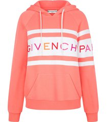 givenchy hoodie logo sweatshirt