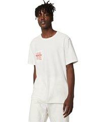 camiseta con bolsillo reversible converse renew white