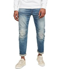 g-star raw men's elwood 5620 3d straight jeans, created for macy's