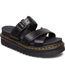 ryker shoes summer shoes flat sandals svart dr. martens