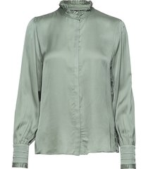 baume elizabeth blouse blouse lange mouwen groen bruuns bazaar