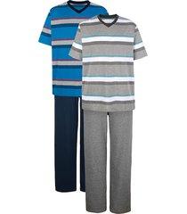 pyjama's g gregory grijs::blauw