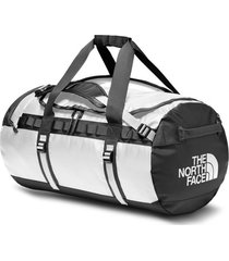bolso base camp duffel - medium blanco the north face