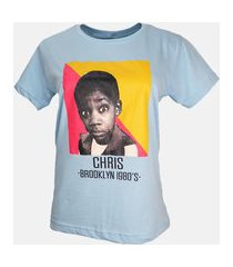 t-shirt chris azul