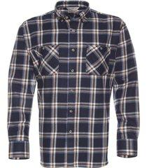 camisa villela azul marino kotting