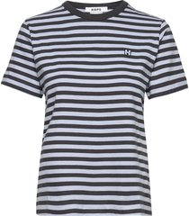 first tee t-shirts & tops short-sleeved multi/mönstrad hope