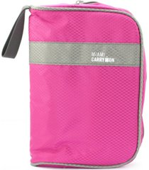 miami carryon travel smart cosmetics toiletry bag and makeup travel organizer