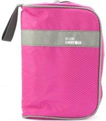 miami carryon travel smart cosmetics toiletry bag and makeup travel organizer