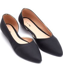 baletas negras color negro, talla 38