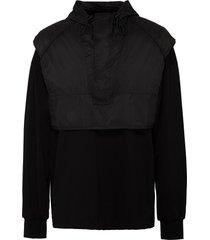 hooded crop vest