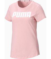 essentials t-shirt voor dames, roze, maat 3xl | puma