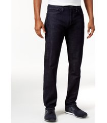 ax armani exchange men's five-pocket straight-fit stretch jeans