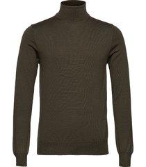 lyd merino turtleneck sweater knitwear turtlenecks groen j. lindeberg