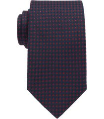 boss men's dark pink traveler tie