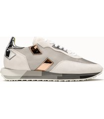 ghoud sneakers rush multi low colore argento