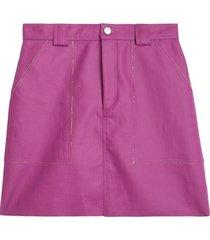 christo skirt in magenta
