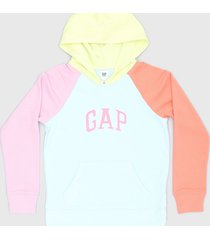 buzo multicolor gap