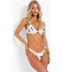 bikini top met vollere cups en beugel, white