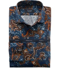 olymp dress hemd 855944 blauw