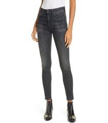 women's rag & bone nina high rise ankle skinny jeans