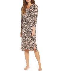 women's rachel parcell knit nightgown, size - (nordstrom exclusive)