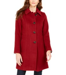 anne klein club-collar walker coat, created for macy's