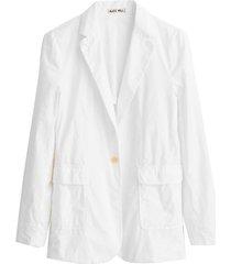 billie blazer in white