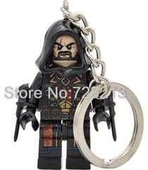 sa 1 pc cormac assassin's creed keychain single sale key chain minifigure blocks