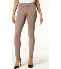 style & co ponte leggings, created for macy's