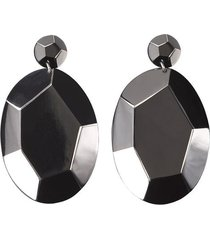 deco clip earrings, women's, josie natori