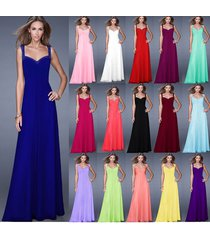 new wedding ball evening formal party prom bridesmaid dresses stock size 6-20