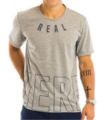camiseta masculina here estampa frontal - area verde - multicolorido - masculino - dafiti