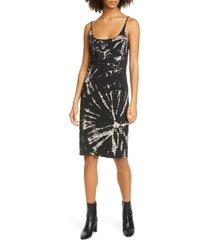 women's raquel allegra constellation tie dye tank dress