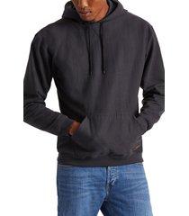 brixton longman ii reserve hoodie, size medium in black at nordstrom