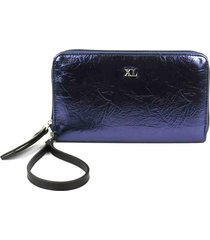 billetera azul xl extra large isabellina