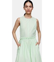 *apple green midi dress by topshop boutique - apple green