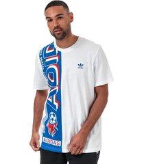 mens side scarf t-shirt