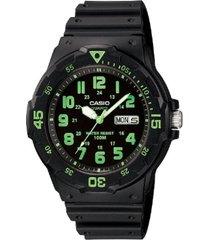 reloj casio mrw_200h_3bv negro resina
