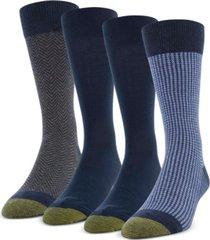 gold toe men's 4-pack classic menswear socks