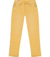 pantalon slicker yellow polo ralph lauren 5 bolsillos unicolor