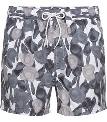 mason swim shorts aop 6956 badshorts grå samsøe samsøe