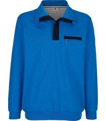 sweatshirt roger kent royal blue