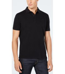 hugo men's solid knit polo