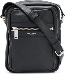 saint laurent sid pouch crossbody bag - black