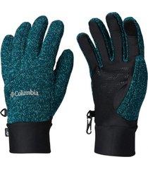 guantes darling days azul petróleo columbia