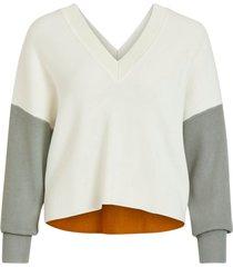 tröja objkleo cropped l/s knit