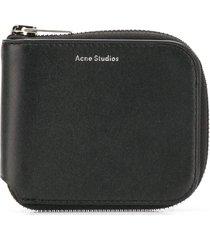 acne studios kei s wallet - black