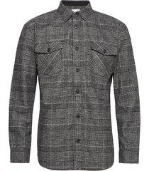 vium overhemd casual grijs minimum