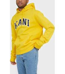 karl kani kk college hoodie tröjor gul