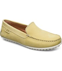 plain driving loafer wmn loafers låga skor gul marstrand
